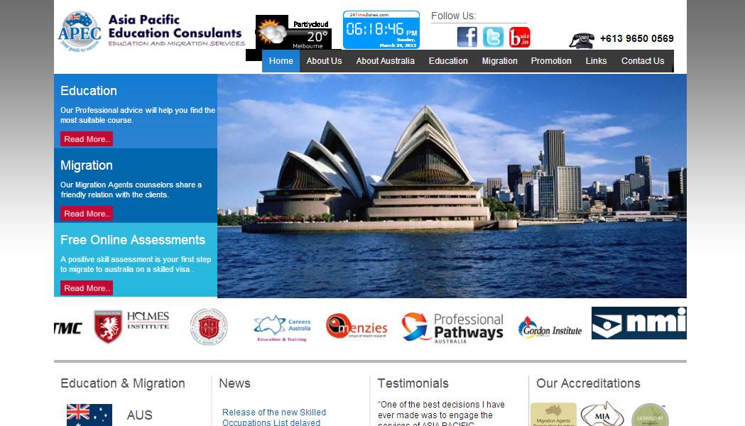 australian website design company