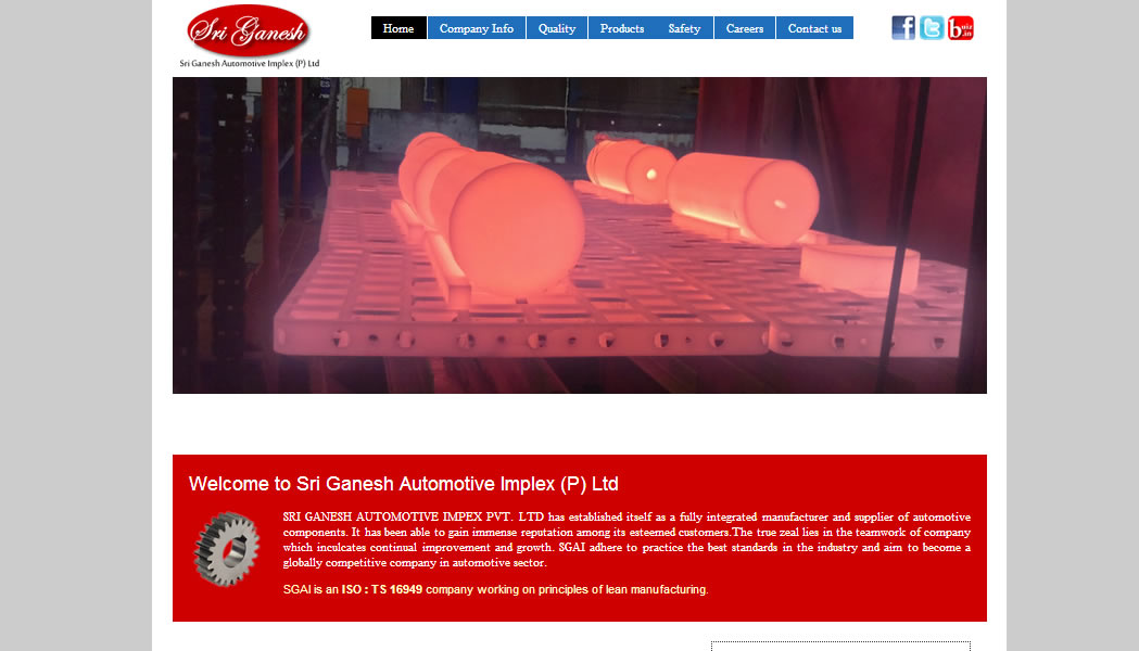 Sri Ganesh Automotive Implex, Rajasthan.