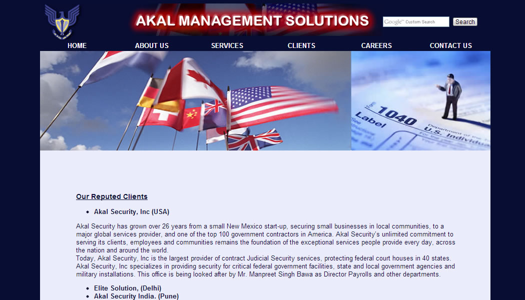 Akal Management Solutions, USA
