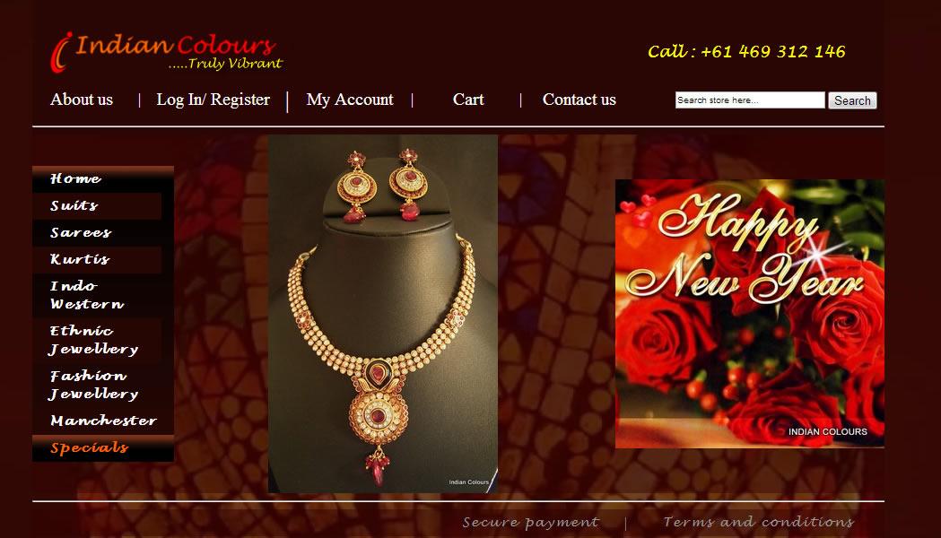 Indian Colours, Melbourne